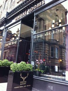 Whiski Rooms Edinburgh - love the haggis here!