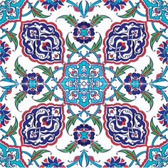 Decorating your floor with ceramics can add a much-needed pop of color to your home. Ceramic tiles and quite affordable and give your home an elegant and unique touch without drowning out other are… Turkish Tiles, Turkish Art, Islamic Tiles, Islamic Art, Islamic Patterns, Tile Patterns, Ceramic Floor Tiles, Mosaic Tiles, Ceramic Flooring