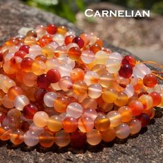 For lower abdominal pain, especially in woman and in pregnancy, this stone placed on the pubic bone each day for twenty minutes will reduce the pain. Carnelian encourages the formation of new blood cells, and bleeding will respond favorably to treatment with this stone. Physically, carnelian has been used to encourage healing of open sores, rheumatism, kidney stones and other kidney problems. It is said that this stone will help cleanse and purify the blood, thus giving more physical energy.