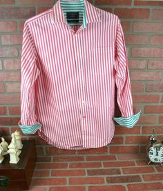 M Striped Regular Size Button-Front Casual Shirts for Men Cool Shirts For Men, Casual Shirts For Men, Charles Tyrwhitt, Men's Shirts, Colorful Shirts, Cool Designs, Oxford, Mens Fashion, Shirt Dress