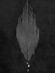 black and white lines geometric Gfx Design, Art Deco Design, Op Art, Graphic Design Illustration, Illustration Art, Art Nouveau, Art Deco Tattoo, Tattoo Motive, Grafik Design
