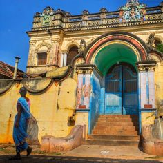 One of the lost palaces of Chettinad