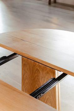 Træfolk_mjolner_udtræksplade-14 Dining Table, Furniture, Home Decor, Lily, Circuit, Decoration Home, Room Decor, Dinner Table, Home Furnishings