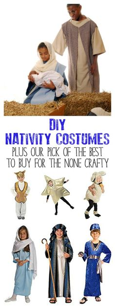 Nativity costumes to DIY or buy for Children