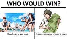 Who Would Win meme - hinanami edition (sdr2 endgame) : danganronpa