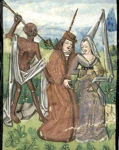 Book of Hours, use of Amiens. 4th quarter of the 15th century, Bibliothèque municipale, Bordeaux. Folia magazine