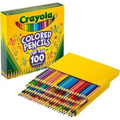 Crayola Colored Pencils, 100-Count - Walmart.com