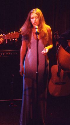 Stevie Nicks on the BuckinghamNicks tour live at The Troubadour in 1973. Photo by Willie Gibson (shared via crystalline knowledge on Tumblr)
