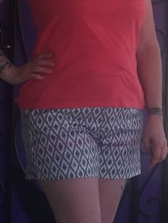 06babc21ea1 Cindie Printed Linen Short from Stitch Fix