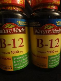 Nature Made B12 Vitamins 1000mcg 150 Tablets Energy Nervous System List No 2730 | eBay