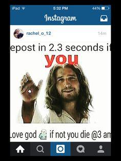 I LOVE God and Jesus