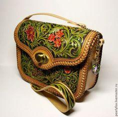 Женские сумки ручной работы. Ярмарка Мастеров - ручная работа. Купить Кожаная сумка ручной работы Римские каникулы. Handmade.