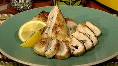 Michael Symon's Chicken Kiev ~ Use GF Flour & Panko