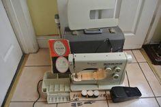 Vintage  Viking Husqvarna Multi-Decorative Stitches Sewing Machine by ZionVintageCrafts on Etsy