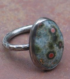 How to make a metal bezel setting for a stone.