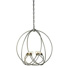 Orb Chandelier | Hubbardton Forge at Lightology