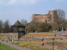 Tamworth Castle Staffordshire England