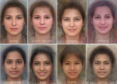 What Does The Average Face Look Like In Every Country Around The World? These photos try to answer this question that has been asked by some for centuries. People Around The World, Around The Worlds, Average Face, Average Person, Different Countries, Portraits, Portrait Ideas, Anatomy Reference, Drawing Reference