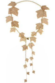 Ivy Vines gold Necklace
