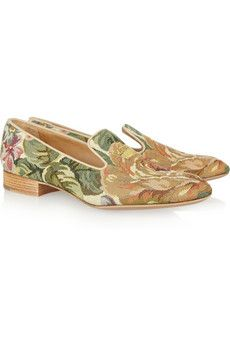 3976d38ac7 Cool Flora tapestry-weave loafers! Church s Shoes