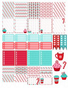 Printable Planner Stickers Erin Condren MAMBI by LaceAndLogos