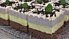 Lehký cuketový salát se sýrem a česnekem – RECETIMA Cake Bars, Czech Recipes, Ethnic Recipes, Pavlova, Tiramisu, Cheesecake, Food And Drink, Low Carb, Sweets