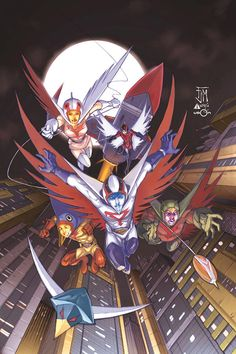 Battle of the Planets, G-Force, Gatchaman, Science Ninja Team. Whatever u wanna call em, they rocked and I ran home to see em after school!!!