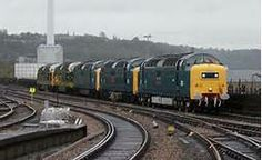 Five Deltic Convoy Electric Locomotive, Diesel Locomotive, Steam Locomotive, Electric Train, British Rail, Old Trains, Train Engines, Bahn, Steam Engine