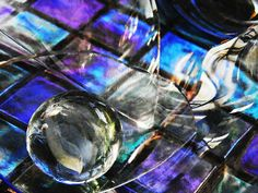 Glass Abstract 396      by S Loft