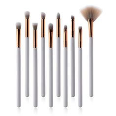 KaiCran Makeup Brushes Foundation Powder Eyeshadow Eyeliner Lip Brush Tool Cosmetic Brushes >>> For more information, visit image link. (This is an affiliate link) It Cosmetics Brushes, Cosmetic Brushes, Makeup Cosmetics, Makeup Brushes, Body Souffle, Eyeliner, Eyeshadow, Lip Brush, Skin Care Treatments
