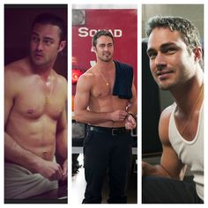 #Chicago Fire #Taylor Kinney with, or without the shirt, yep.