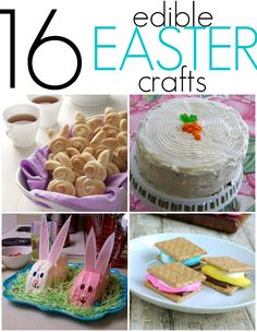 16 yummy Easter crafts
