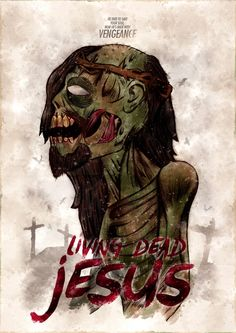 Living Dead Jesus by Maurício Cardoso