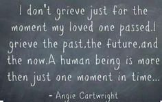 So very true. Missing my son.