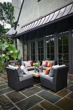 Live outdoors... Live happy. Create a backyard that welcomes family and friends. #outdoorliving