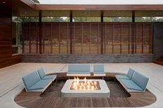 Small Fire Pit Dream Homes fire pit bar awesome.Small Fire Pit Dream Homes rectangular fire pit hot tubs. Sunken Patio, Sunken Fire Pits, Small Fire Pit, Modern Fire Pit, Concrete Fire Pits, Flagstone Patio, Outdoor Fire, Outdoor Lounge, Outdoor Living