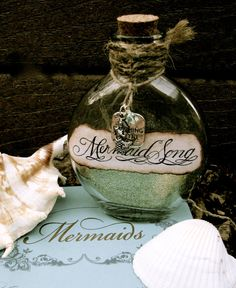 Hey, I found this really awesome Etsy listing at https://www.etsy.com/listing/62384238/mermaid-song-bottle