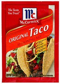Pack of McCormick Original Taco Seasoning Mix