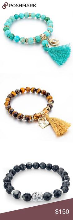 Natural Stone bracelet Natural Bead Bracelet. ❗️Wholesale price 60 total, pack of 20, $2.50 unite price Jewelry Bracelets