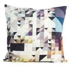 Triangel tyynynpäällinen, sininen ryhmässä Tekstiilit / Viltit & Koristetyynyt / Koristetyynyt @ ROOM21.fi (115190)