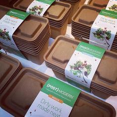 {POST}MODERN...Starter kits and refills! 100% compostable! @postmodern_home www.postmodern.us Help us build a following... We have worked really hard at creating this product and are excited to launch it in Northwest retailers soon! We love it and hope your families will to please spread the word. #gogreen #pacificnorthwest #seattle #compost #organicgardening #organic #cleanfood #gardening #postmodern_home #recycle  #foodwaste #gardening #growsomethinggreen  #sustainability #eco…