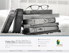 23 de Abril Día de los idiomas y Día del Bibliotecólogo. #Diadelosidiomas #bibliotecologo #cucuta
