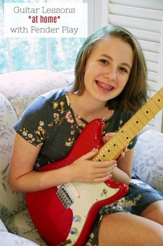 Want to learn to play guitar but don't have a lot of free time? Check out these guitar lessons at home from Fender Play! Power Chord, Online Guitar Lessons, How To Teach Kids, Learn To Play Guitar, Stand By You, Online Tutorials, Good Posture, Song Time, Guitar Tips