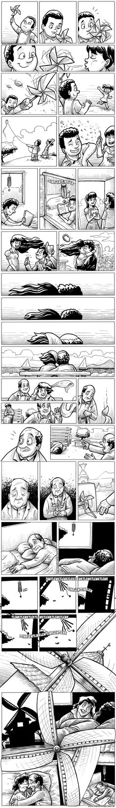 We're all stories, in the end. Just make it a #good one. #Life #Comic