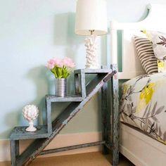 Mesa escalera #ideashabitissimo #decoración