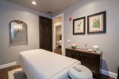 Our spacious and relaxing Massage Rooms Woodhouse Day Spa, The Woodhouse, Leesburg Va, Massage Room, Spa Day, How To Memorize Things, Relax, Rooms, Luxury