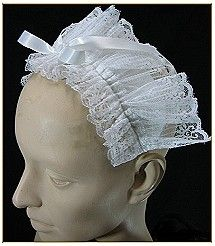 Maid's Lace Headpiece