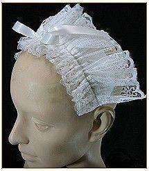 Maid's Lace Headpiece