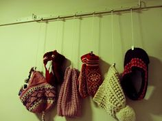 I would like to use this inside my coat closet to hang mittens and hats...this is a picture hanger from ikea