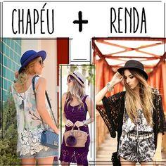 Chapéu + Renda